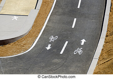 track for bicycles in San Francisco