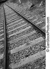 Track of the train, Drocourt, Pas-de-Calais, Hauts-de-France, France
