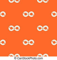 Track pattern vector orange