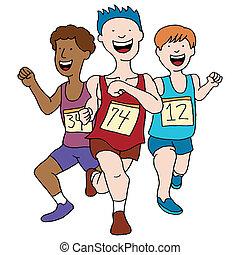 Track Team Men