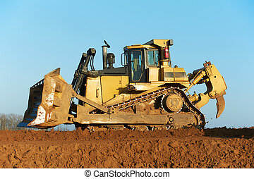 track-type bulldozer loader