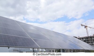Tracking Solar Panel Moves - Tracking solar panel energy...