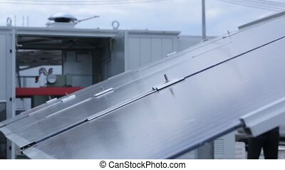 Tracking Solar Panel System - Tracking solar panel energy...