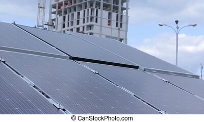 Tracking Solar Panel - Tracking solar panel electric power ...