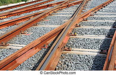 Tracks - Small gauge railway tracks