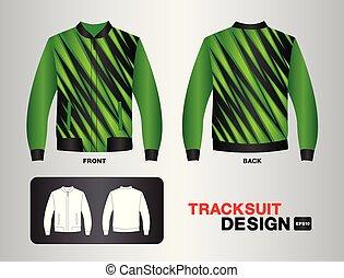 Black And Green Layout Football Sport T Shirt Kits Jersey Shirt