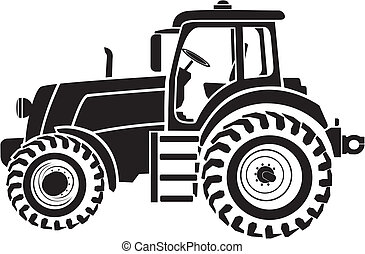 tractor illustrations and clip art 43 090 tractor royalty free rh canstockphoto com clip art tractorsplan view clip art tractors top view