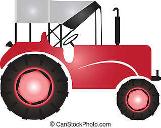 Tractor for agriculture and fields