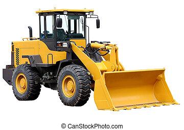 Tractor front loader.