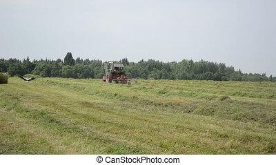 tractor hay shaker