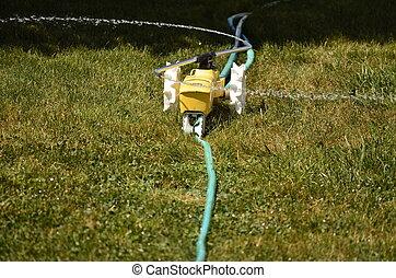Tractor Lawn Sprinkler