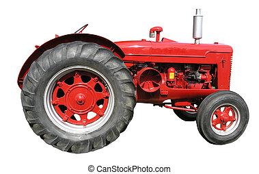 tractor, ouderwetse , diesel, mccormick
