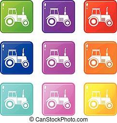 Tractor set 9