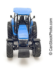 tractor - object on white - toy - tractor