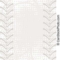 Tractor Tread Background - Tyre tread of a typical generic...