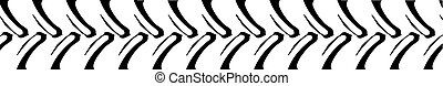 Tractor Tread Pattern COmputer Banner