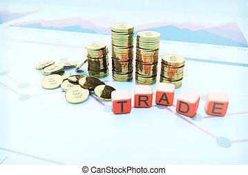 Trade coins