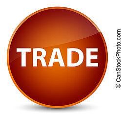 Trade elegant brown round button