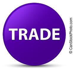 Trade purple round button