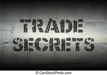 trade secrets GR - trade secrets stencil print on the grunge...