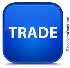 Trade special blue square button