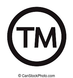 Trademark Symbol icon Vector Illustration