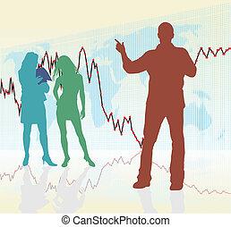 Traders, Rising global crisis
