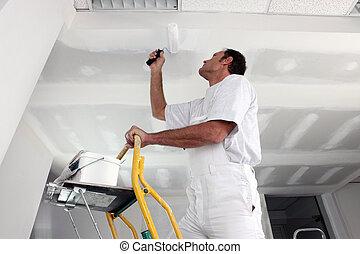 tradesman, 绘画, 天花板