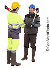 Tradesmen forming a partnership