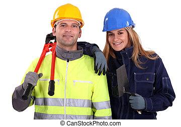 tradespeople, equipo