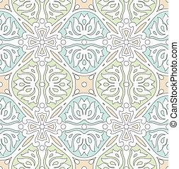 tradicional, azulejo, seamless