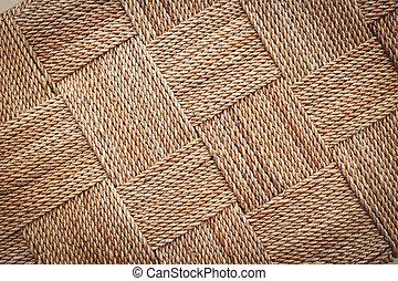tradicional, hy, artesanato, vime, textura, água, fundo, tecer