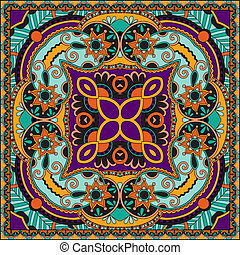 tradicional, ornamental, paisley, floral, bandanna.