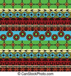 tradicional, ornamentos, colorido, textura, africano