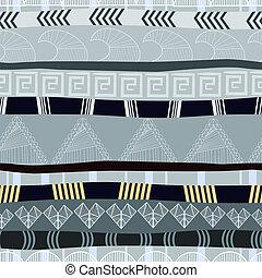 tradicional, padrão, seamless, textura, africano