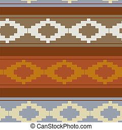 tradicional, padrão, seamless, textura