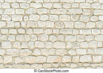 tradicional, pared de piedra, wallpaper., patrón, francia,...