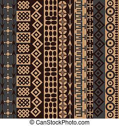 tradicional, textura, motives