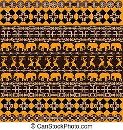 tradicional, textura, ornamentos, africano