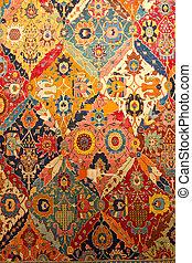 tradicional, turco, tapete