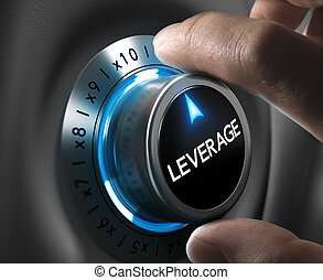 Trading - Leverage button pointing x10 position with two...