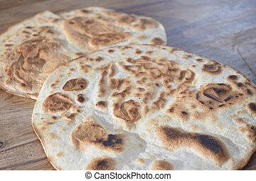 traditinal Italian flatbread: piadina emiliana