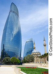 Tradition and modernity. Architecture of Baku - The Turkish...