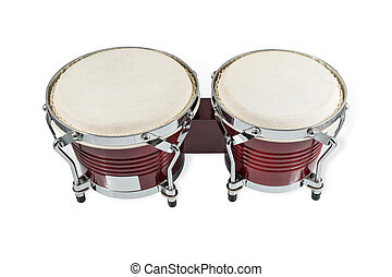 Traditional African hand drums