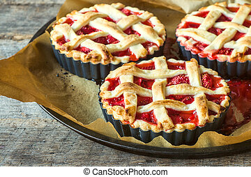 American pie - Traditional American pie stuffed with ...