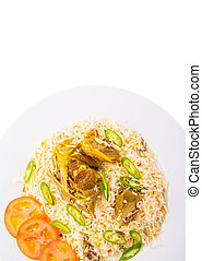 Kabsa Rice - Traditional Arab Middle East dish Kabsa Rice...