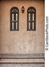 Traditional Arabic architecture in Doha, Qatar