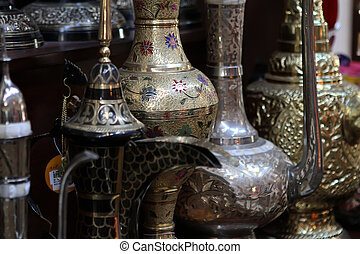 Traditional arabic market