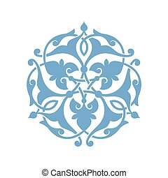 Traditional Arabic ornament seamless for your design. Floral...