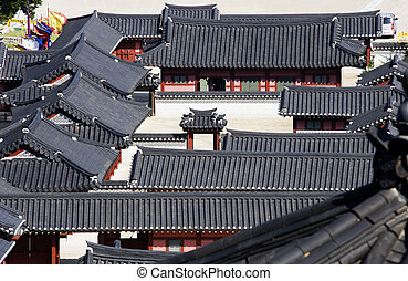Traditional architecture in south korea,Suwoncastle